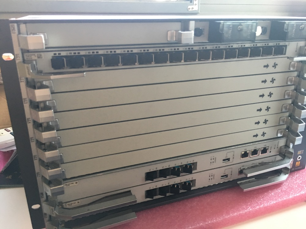 Telecom Parts Hua Wei Olt Smartax Ma5800-x7 Included 2*pila And 2*mpla And 2*16 Ports Boards Gphf With 16 C Sfp