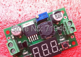 FREE SHIPPING 10PCS/LOT DC-DC LM2596 Buck Power Module 3A Adjustable Output Voltage Meter Display (with Digital Display)