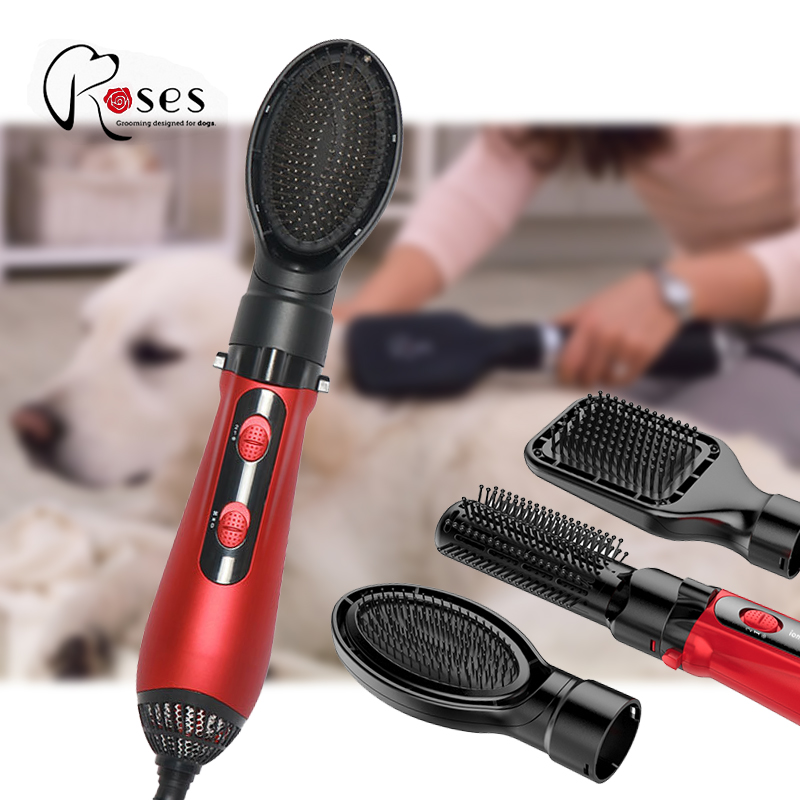 Roses Pet Hair Dryer High Power Mute pet dryer Pet Blowing Machine Mute Professional Big Dogs and Cats Blow Drier