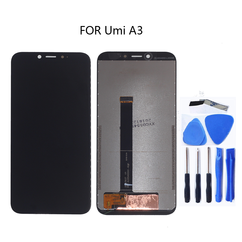 Image 5 - 100%new UMI umidigi A3 original LCD display  touch screen digitizer component replaceable UMI A3 LCD screen monitor  + tools-in Mobile Phone LCD Screens from Cellphones & Telecommunications