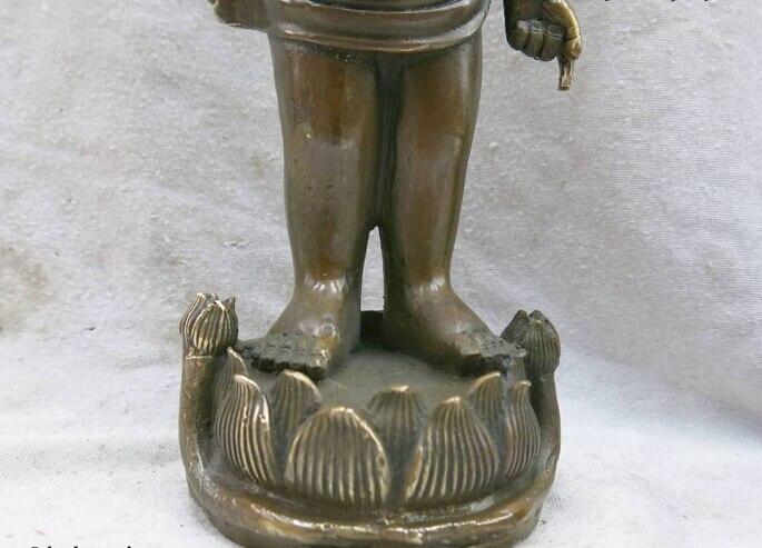 China brass copper carved fine fierce Chinese alligator Sculpture Statue