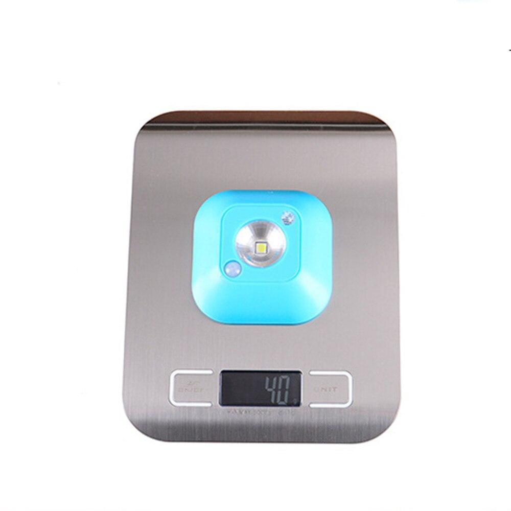SuperNight Wireless LED Night Light Portable Battery Power Motion Activated Lights Sensor Corridor Wardrobe Bedside Wall Lamp (4)