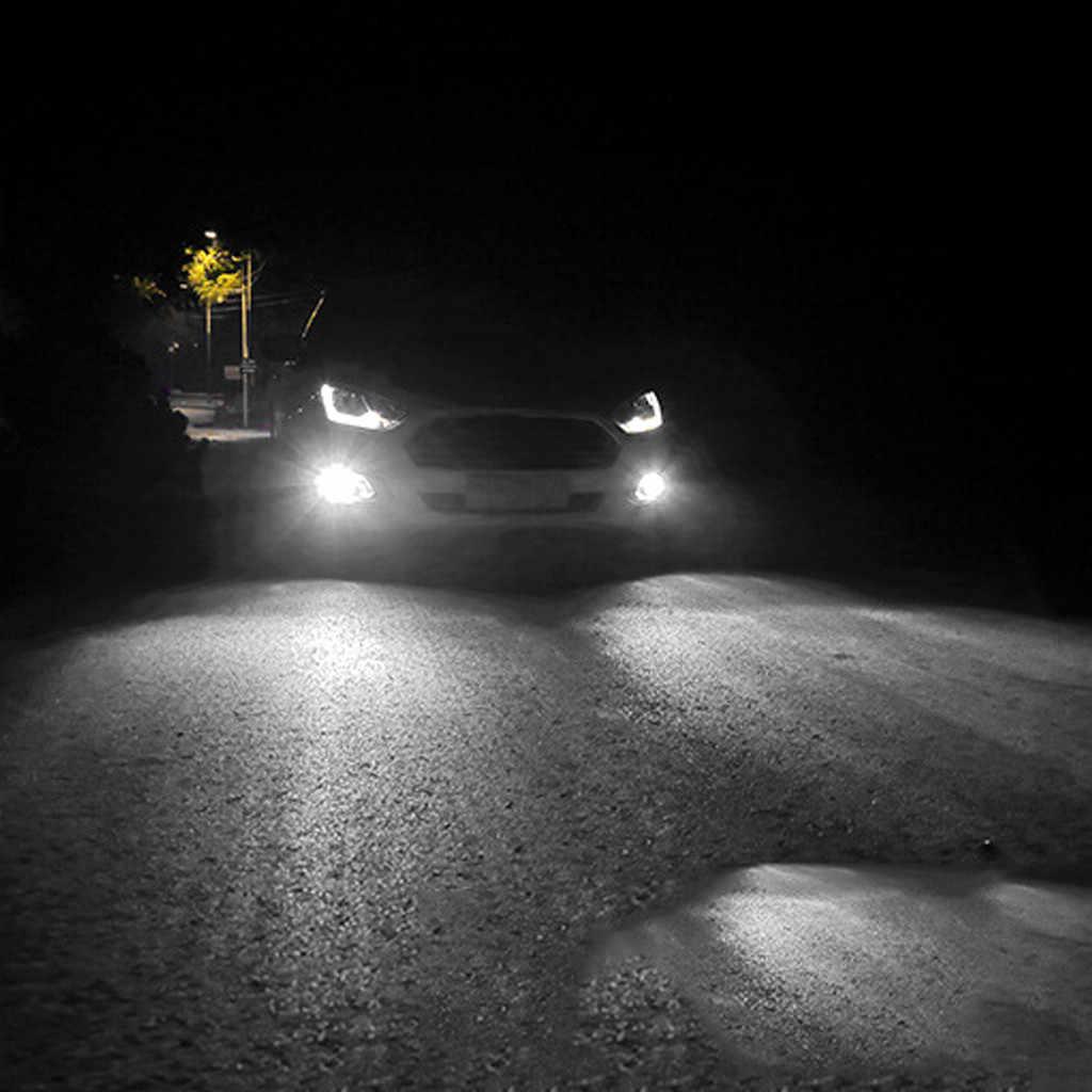 1 pièces H4 voiture brouillard ampoule LED hors route antibrouillard 1000Lm 6000K 66led haute puissance accessoires Refit lampe blanc 19Apl9