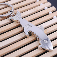 Silver Key Accessories Key Chain Metal Shark Pattern Keychain Car Bag Accessories Key Ring Gift Jewelry dice pattern car key chain