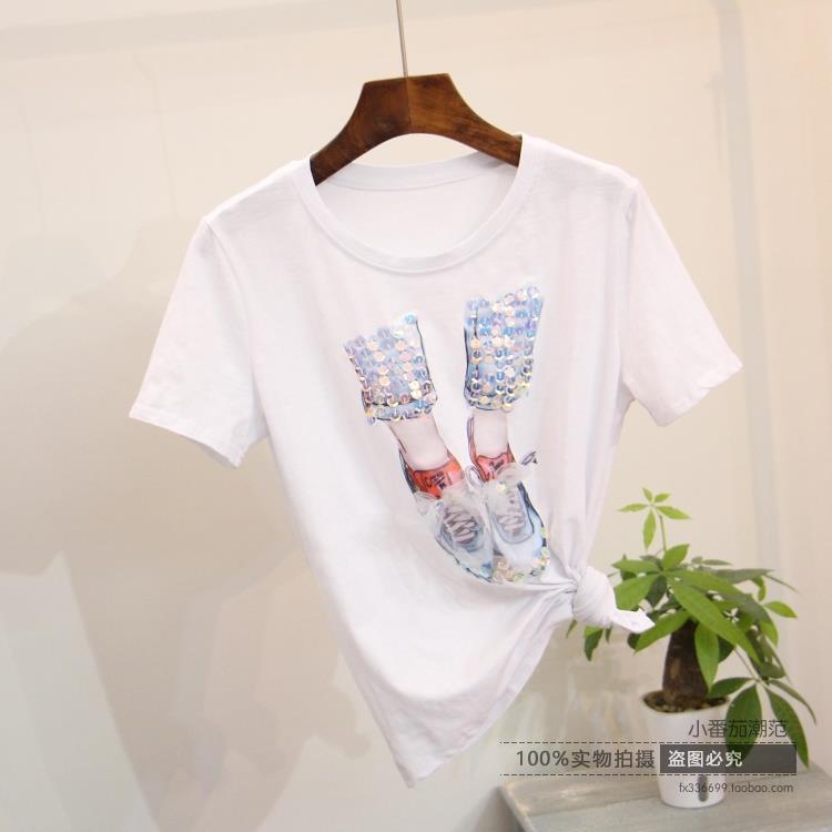 Модные вышивки на футболках