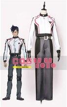 Anime Macross Delta Ihlefeld Military Uniform Cosplay Costume Custom Full set Jacket+Belt+Pants