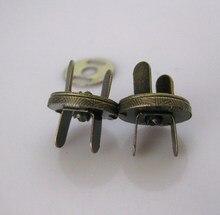 10mm x100set Antique Bronze Magnet Button metal veiled button for handbag DIY accessory free shipping a veiled deception
