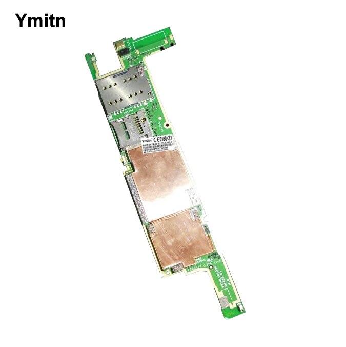 Ymitn Débloqué Original Mobile Électronique Panneau Carte Mère Carte Mère Circuits Flex Câble Pour Sony Xperia M5 E5633 E5663 E5603
