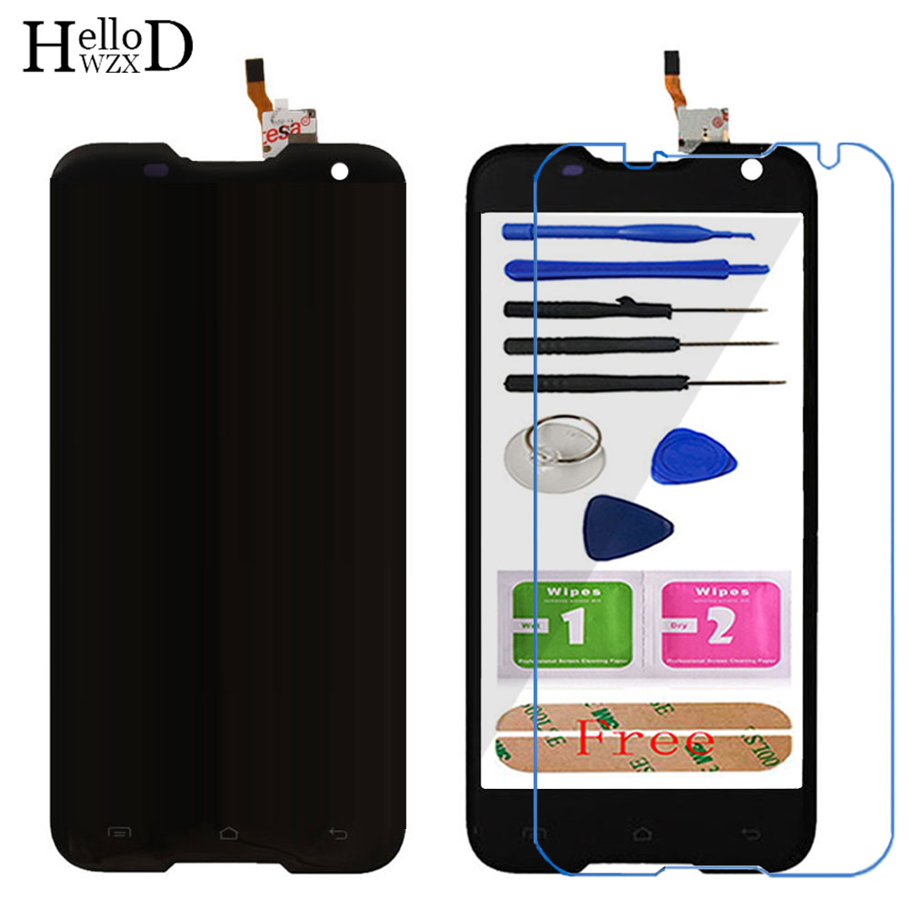 5 39 39 Mobile Front Touch Glass For BlackView BV5000 BV 5000 LCD Display Touch Screen Glass Digitizer Panel 1280X720 Sensor Tools in Mobile Phone Touch Panel from Cellphones amp Telecommunications