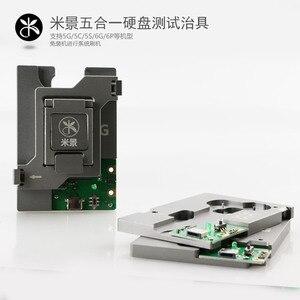 Image 3 - 5 em 1 hdd placa lógica reparação ferramenta de disco rígido dispositivo elétrico testador para iphone 5g 5S 5c 6g 6 p nand chip memória flash ic placa mãe