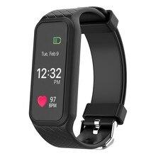 L38I Bluetooth Smart Band Водонепроницаемый Смарт-наручные динамический монитор сердечного ритма полноцветный TFT-LCD экран SmartBand браслет