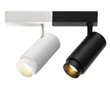 Современные светодиодные трековые светильники с зумом, регулировка угла наклона фасоли, лампа, светодиодный Трековый прожектор, освещение, прожектор, промышленная лампа