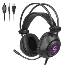 A-K16 Computer Gaming Headphone Stereo Gaming Headset Headphones with Mic LED Noise Cancelling for PS4  PC Gamers somic g941 headphones for computer gaming headset with microphone wired usb bass headphone for pc
