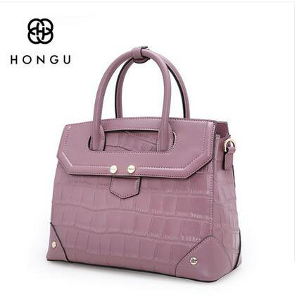 HONGU Genuine Leather Bag 2017 Luxury Handbags Women Messenger Bags Designer High Quality Leg Shoulder Bag Crossbody Tote Sac % hongu genuine leather crossbody shoulder bags for women designer handbags high quality small square casual side purse