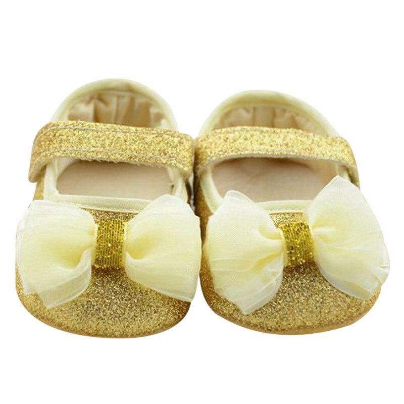 Newborn Baby Shoes Prewalker Princess Shoes Infant Toddler Butterfly Flower First Walkers Shoes For Kids Baby Girl Infantil