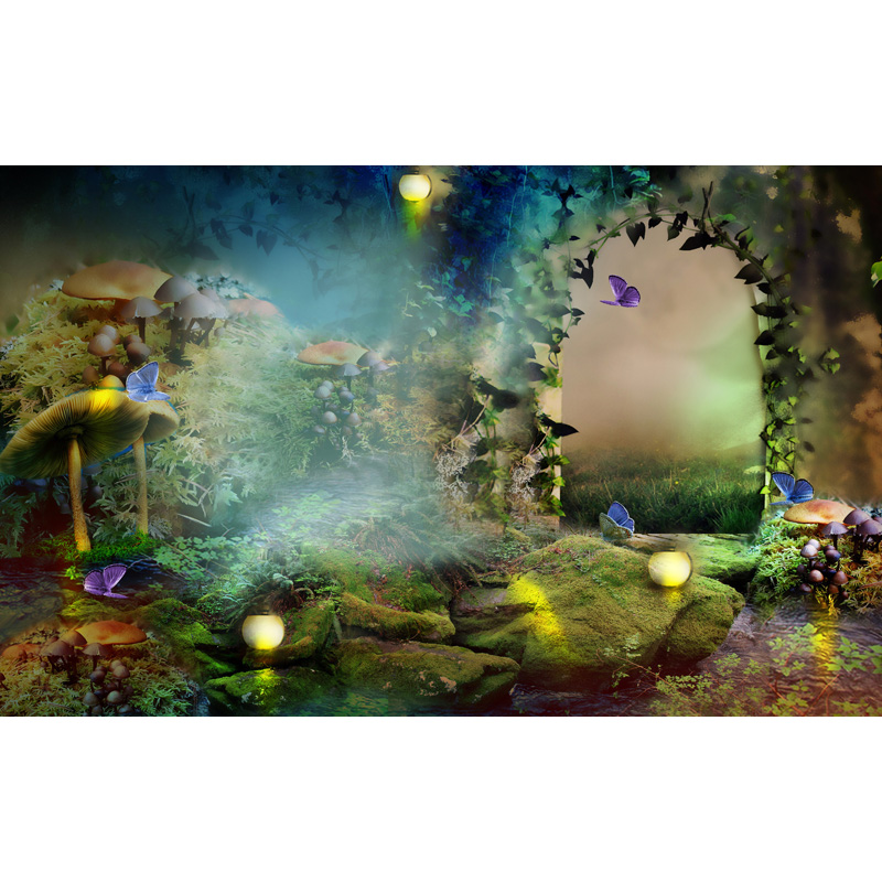 MEHOFOTO Vinyl Photography Background Fairy Tale Computer Printed Children Backdrops for Photo Studio ZH-129 vinyl photography background bokeh computer printed children photography backdrops for photo studio 5x7ft 888