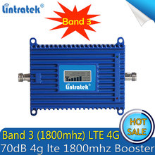 Ücretsiz kargo 4G LTE 1800 MHz cep telefonu sinyal güçlendirici 2G DCS 1800 MHz sinyal tekrarlayıcı cep telefonu 4G amplifikatör