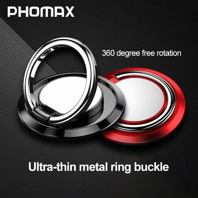 PHOMAX 360 Degree Finger Ring Smart Phone Mount Support For IPhone X  9 8 Xiaomi Samsung Huawei All Models Of Phone Ring Buckle