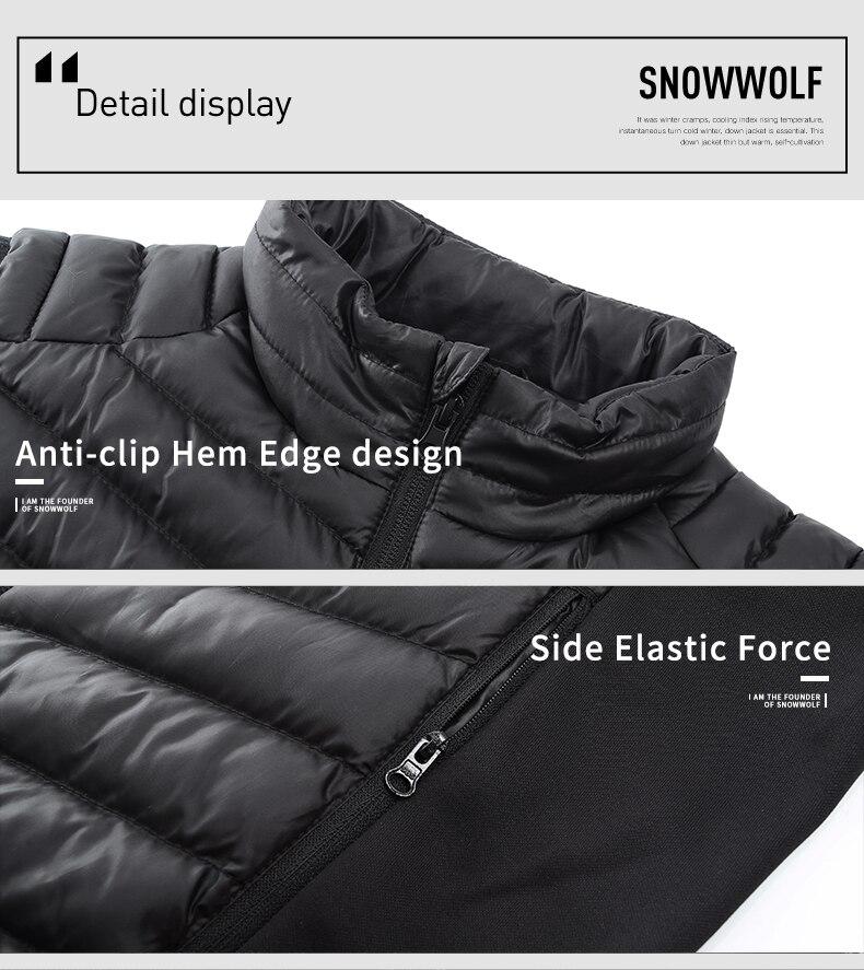 infravermelho aquecimento colete jaqueta inverno fibra de
