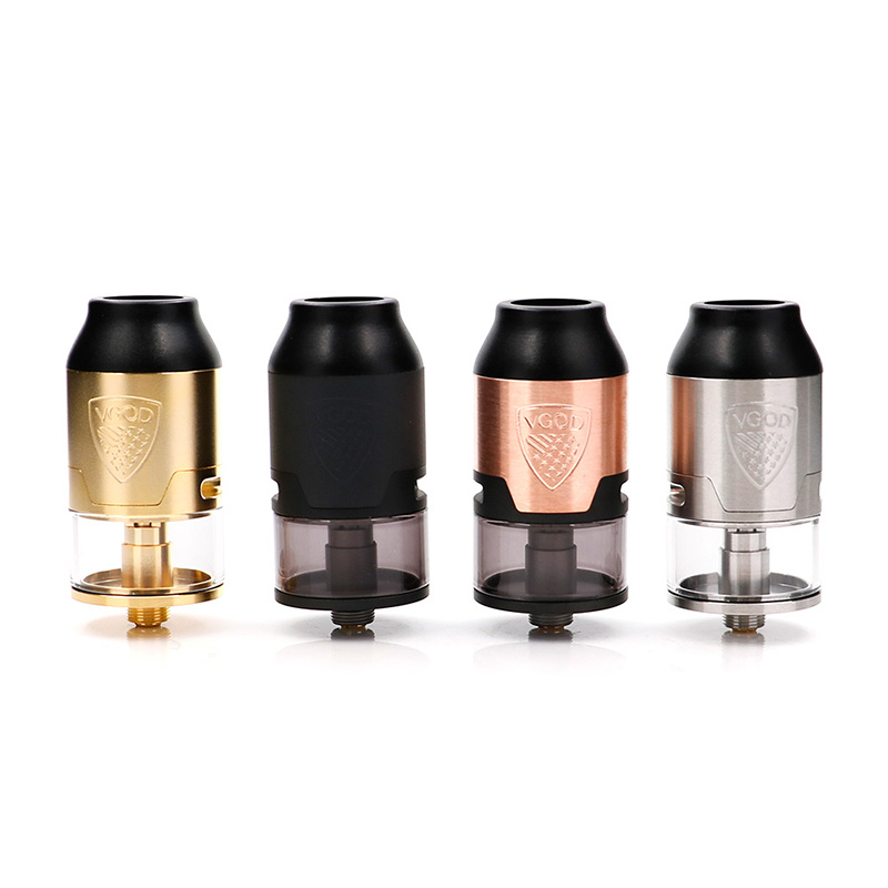 D'origine VGOD Elite RDTA réservoir 24mm Reconstructible Gouttes Atomiseur pour elite pro mech mod VS TRICKTANK PRO R2 RDTA made in USA