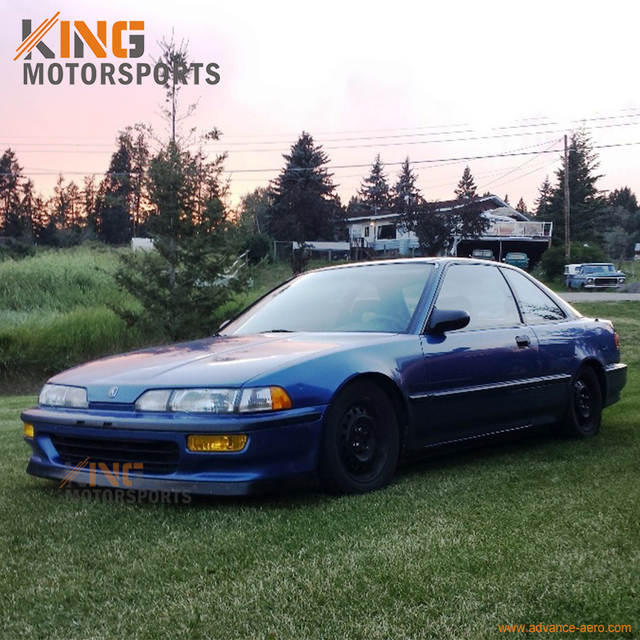 Online Shop For 92 93 Acura 3DR 4DR Integra PU Front Bumper Lip