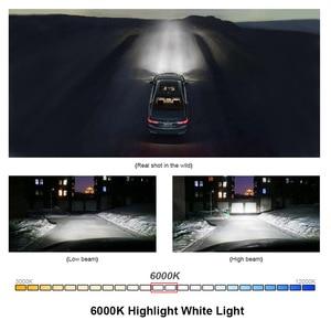 Image 3 - سوبر وسيس led c6 h4 H7 H11 أضواء مصباح ل سيارة الضباب أضواء 60W H11 H8 H9 9005 9006 hb4 led مصباح أضاءه أمامي 12V 24V 6000K 10000LM