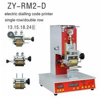 ZY RM2 D Electric Dialling code printer,Dial coding machine,Automatic Stamping Machine,leather LOGO Creasing machine tool parts