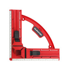Adjustable 90 Degree Angle Clamp Right Angle Clip Plastic Corner Wooden Clamp Picture Frame Carpentry Clamps for Woodworking(China)