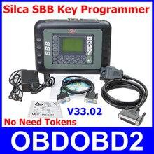 2016 SBB Key Programmer V33.02 Profesional No Tokens Silca SBB Auto Clave Pro Inmovilizador Herramienta de Programación Para Los Coches de Varias Marcas