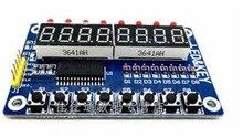8-Bit Digital LED Tube 8-Bit TM1638 Key Display Module For Arduino AVR Authentic High Quality