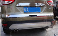 Car styling Rear Trunk molding Lid Cover trim Chrome for FORD Escape / KUGA 2013