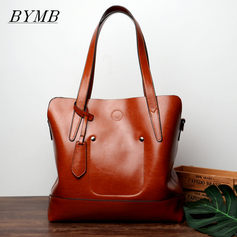 Hot, high-quality brand bags Fashion Women Handbag Genuine Leather Women Bag Large Capacity Tote Bag Big Ladies Shoulder Bags 2018 new women bag ladies shoulder bag high quality pu leather ladies handbag large capacity tote big female shopping bag ll491