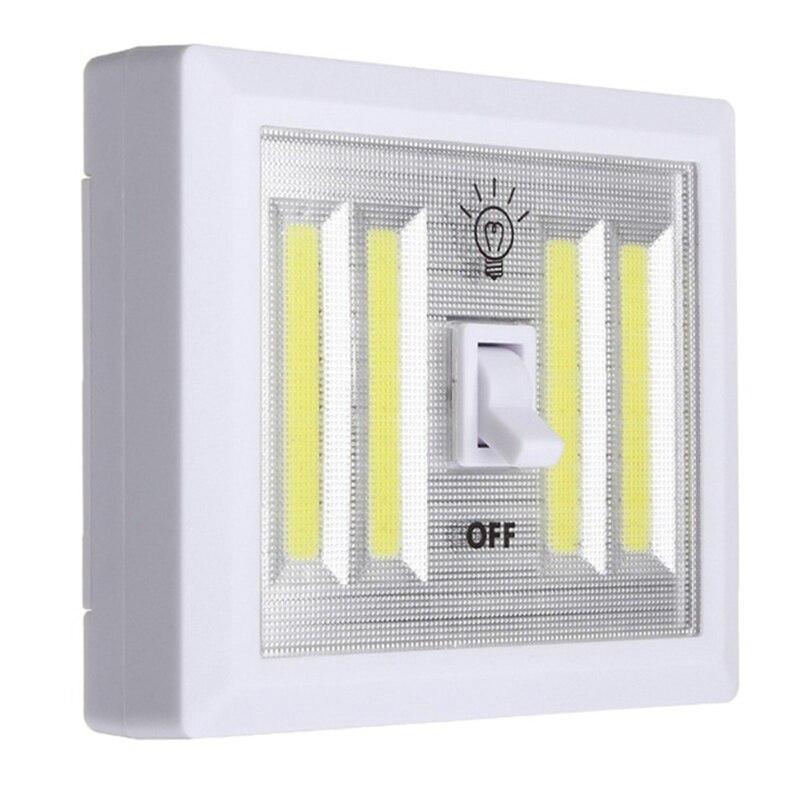 1 шт. удара переключатель настенный светильник светодиодный Батарея питание Garage Кабин ...