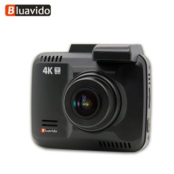 Bluavido 4K 2160P Dash Cam DVR GPS Tracker WDR Night Vision IMX323 Novatek 96660 Car Camera Video Recorder WiFi 150 Degree image