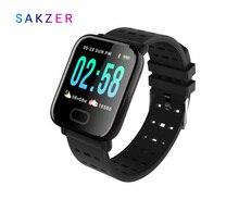 A6 Smart watch kleurenscherm slimme armband m20 real-time hartslag bloeddruk slaapbewaking 1,3 inch