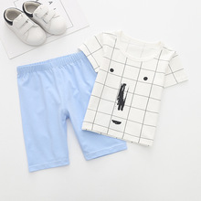 (6Pcs/lot) Hot Summer T Shirt Tops Pants 2018 New Arrival Boys Clothes Children Clothing Set Kid Outfits Sets For Boy