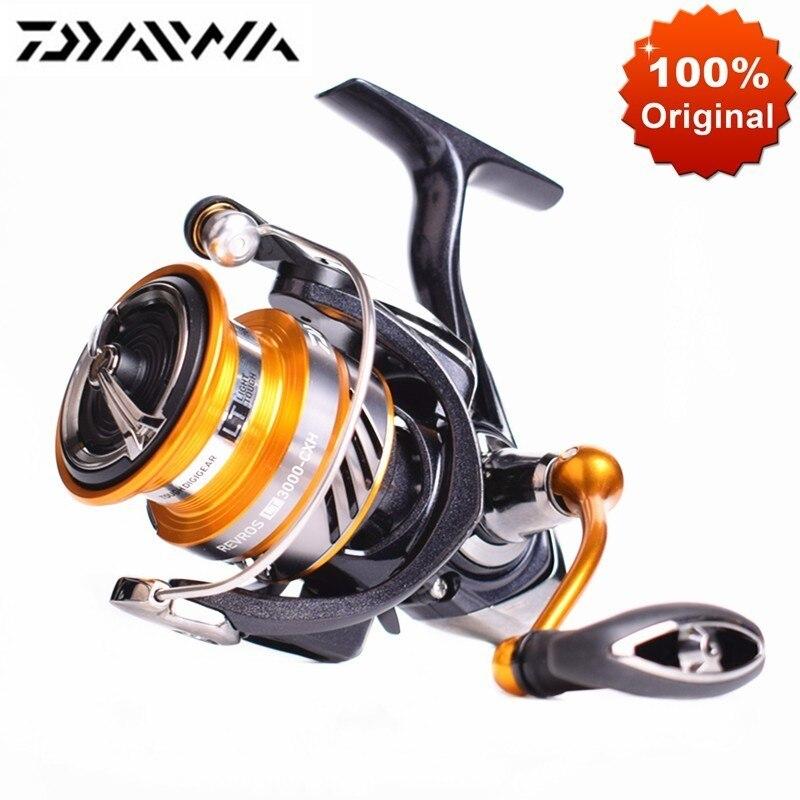 Original LT REVROS DAIWA Spinning Reel Fishing 1000 2000 3000 Alta Proporção 6.2: 1 Max 12kg Molinete de Pesca De Água Salgada Bobinas