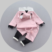 2016 Girls Autumn And Winter Baby Girl Suits New Babys Children Clothes For1 3 Years Old