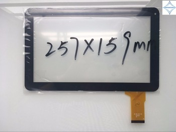 new 10.1'' inch tablet Touch Screen capacitive Digitizer panel glass lens mf-595-101f fpc 50pin