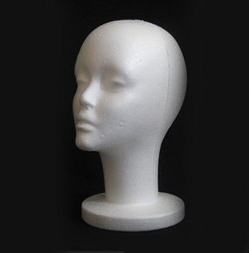 Женские пенопластовые манекены, модель очков для волос, головной убор