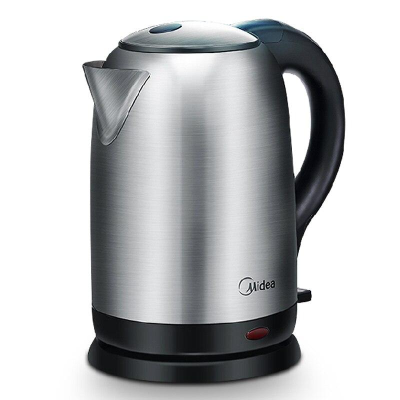 Midea 220 В Сталь Электрический чайник автоматическое Мощность-офф чайник здоровья горшок Чай котел 1.7l mk-sj1703s