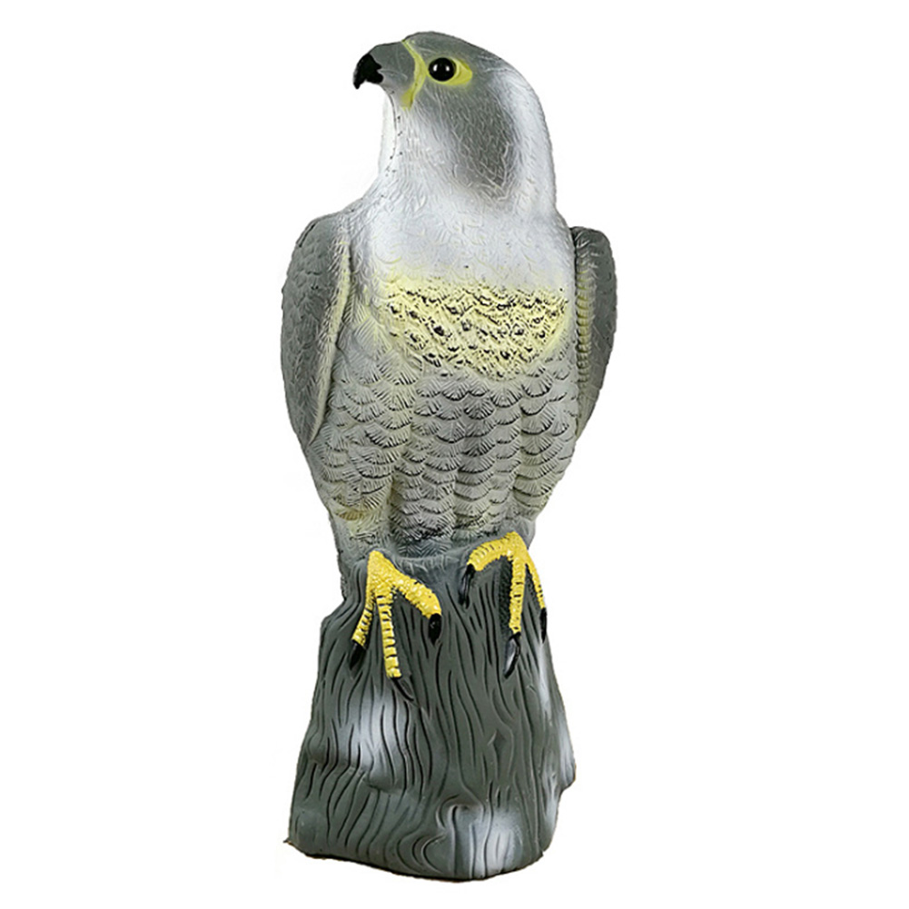 Outdoor Simulation Hunting Bait Bird Bird Shaped For Kids Small Durable Pest Control PE Plastic Garden Decoration Repeller Pond
