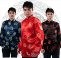 Tang suit Chinese Traditional clothes men's big size coat xxxl clothes fall/winter festive wedding chinese kong fu wear jacket