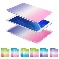 Rainbow Color PU Leather Cover Ultra Thin Smart Case For IPad Pro 10 5 With Auto