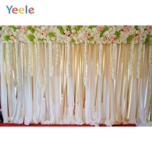 Yeele Wedding Flower Background Vinyl Photo Backdrop Custom Backdrops Studio Photograph Scenic Photo Backdrops Baby Photography professional 10x20ft muslin 100% hand painted scenic background backdrop spring flower wedding photography background
