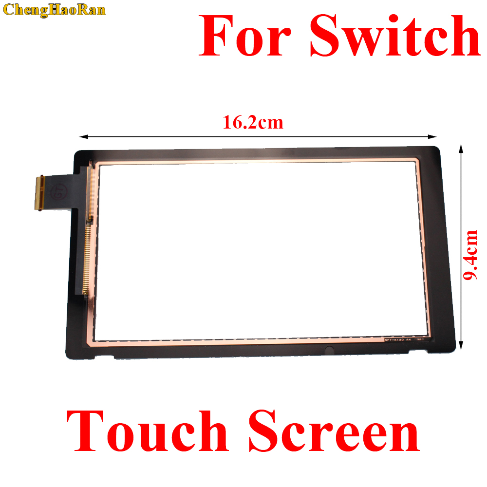 ChengHaoRan 1pcs Front Outer Lens LCD for Touch Screen Digitizer Replacement Part For Switch NS LCD for Touch Screen DigitizerChengHaoRan 1pcs Front Outer Lens LCD for Touch Screen Digitizer Replacement Part For Switch NS LCD for Touch Screen Digitizer