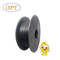 OPY 탄소 섬유 필라멘트 3d 프린터 스레드 1.75Mm 플라스틱 1kg 블랙