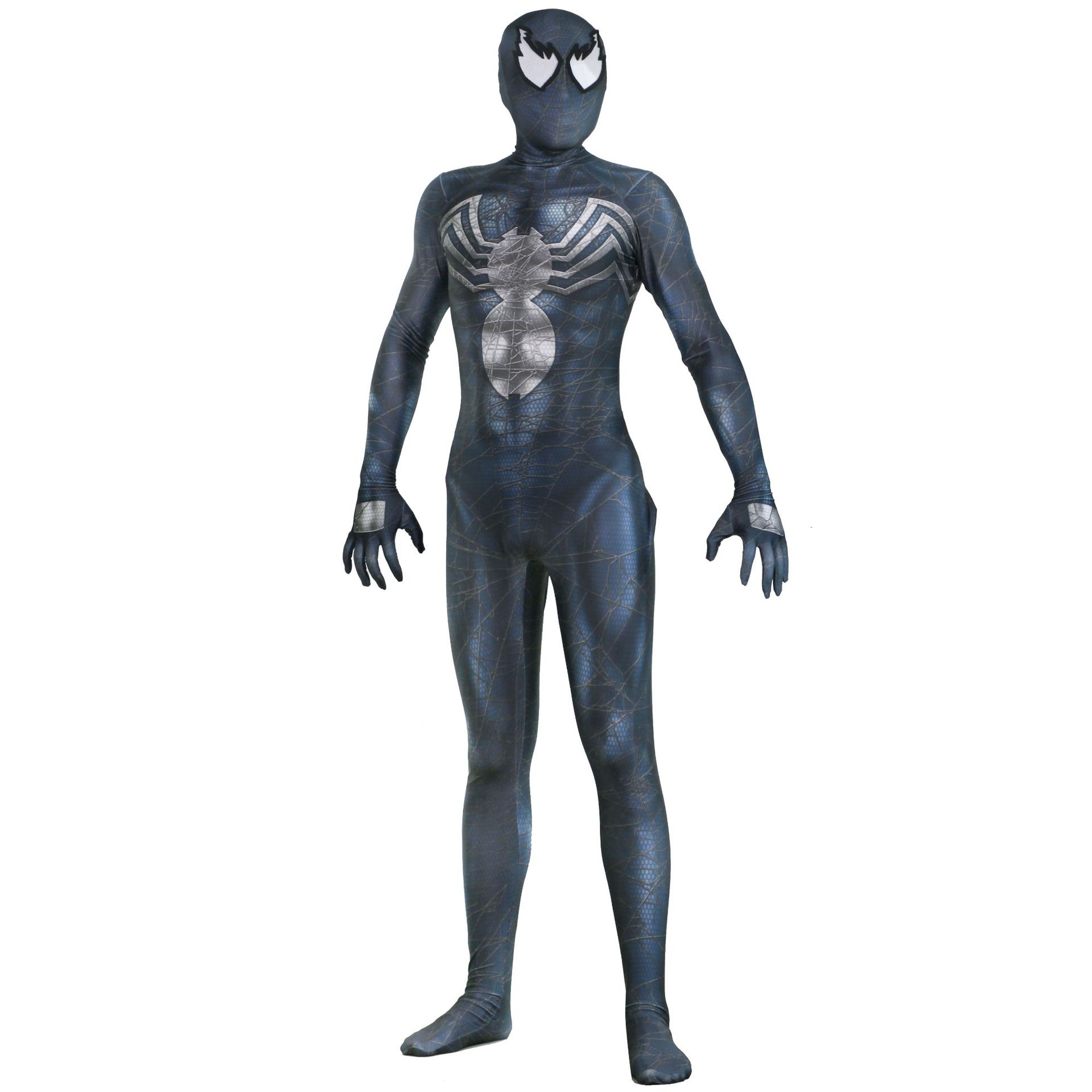 new spider Venom Cosplay Costumes 3D Printed Symbiote Spider Man Edward Brock Lycra Costume Zentai Spidey Suit