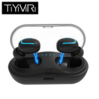 Q13s TWS Invisible Mini Headphones 3D Stereo Hands free Noise Reduction Bluetooth Earphones Wireless Headset for Huawei Xiaomi
