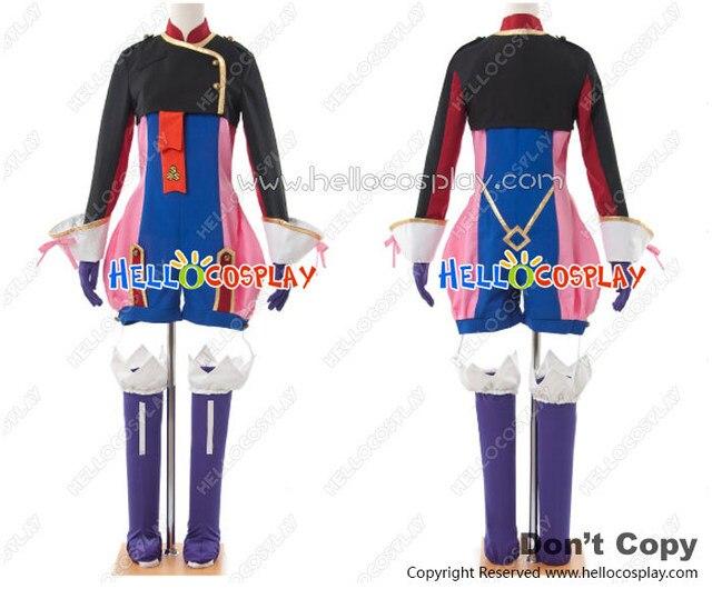 Macross Frontier Cosplay Klan Klang Captain Costume Full Set H008